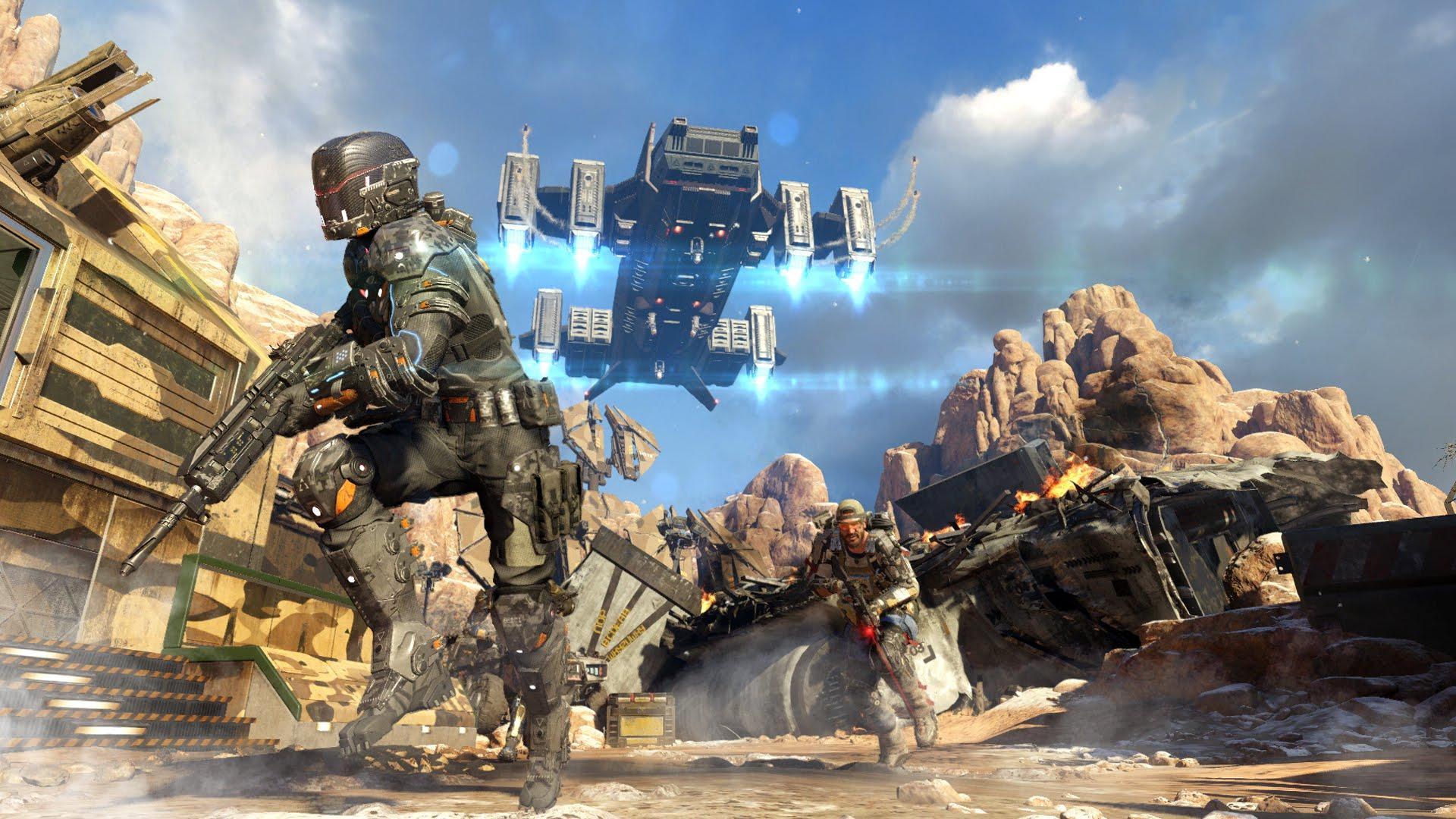 Картинки по запросу Call of Duty: Black Ops III