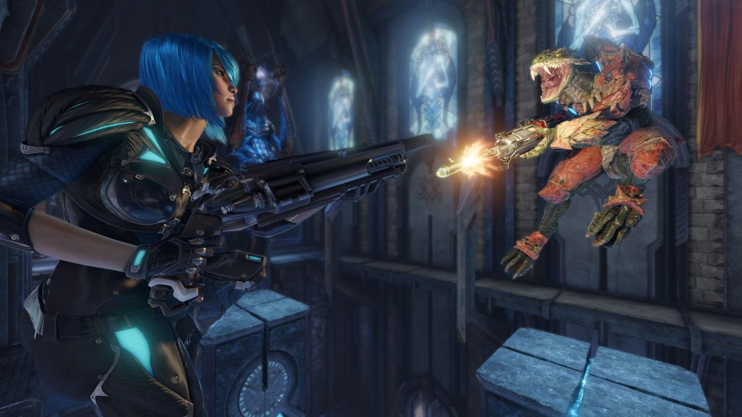 Картинки по запросу Quake Champions персонажи